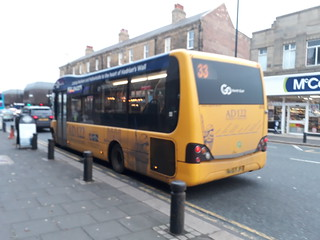 Go north east AD122 hadrians wall country bus 635 on the nexus bus 33