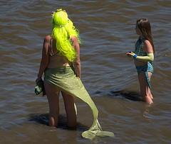 Mermaids (Scott 97006) Tags: costumes mermaid lady female girl water river outfit