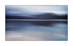 The Land Beyond (After-the-Rain) Tags: derwentwater mountains icm intentionalcameramovement blurred water lakedistrict lakedistrictnationalpark lake keswick cumbria blues abstract december2018 ©joanthirlaway