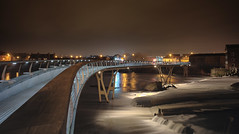 Path to eternity (EricMakPhotography) Tags: bridge river waterfall night boat long exposure