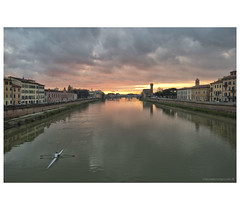 _PXK9830bwtm (Concert Photography and more) Tags: 2018 winter italy pisa arno river rowing landscape sunset colors lungarni petax petaxk1 reflections clouds liveactionhero pentaxdfa1530mmf28edsdmwr pentax1530f28