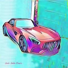 (c)  GT - AMG - CABRIO  Nr. 004 / limited edition 100 (Jui Jah Fari) Tags: amg gt gtamg amggt mercedes benz juijahfariart kunst artist künstleraertwork kunstwerk artistic car auto automobil sportwagen power v8