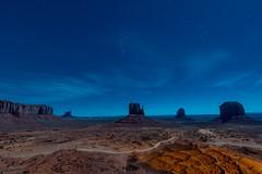 Orion Rising over Monument Valley (Jon Ariel) Tags: monumentvalley utah arizona night