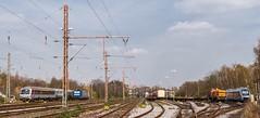 01_2007_04_08_Wanne_Eickel_Üwf_ABELLIO_ES_64_U2_-_045_SIEMENS_DISPOLOK_RB_40_TXLOGISTIK_185_513_WHE_22_ABELLIO_VT_11_003 (ruhrpott.sprinter) Tags: ruhrpott sprinter deutschland germany allmangne nrw ruhrgebiet gelsenkirchen lokomotive locomotives eisenbahn railroad rail zug train reisezug passenger güter cargo freight fret herne wanne eickel wanneeickel üwf siemens wwwdispolokcom abellio abelliorail txl whe es64u2 22 182 185 vt 11003 rb40 stellwerk schaku scharfenberg kupplung steuerwagen outdoor logo natur