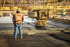 South Mountain Freeway - Salt River Bridges January 2019 (Arizona Department of Transportation) Tags: smf saltriverbridges construction 2019 bridges deckpour c202p freewayconstruction laveen az usa ususa840 arizona highways concrete