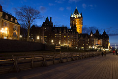 Chateau Frontenac at night - Quebec City (dbind747438) Tags: chateau frontenac quebec city canada north america castle heritage historical building architecture landmark night lights