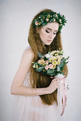 000047 (KirillSokolov) Tags: girl portrait nikon nikonru nikon8008s film 8514 85mm fujifilm400h 85d daylight studio finearts девушка портерт россия иваново дневнойсвет плёнка никон 85мм фуджи весна цветы flowers spring sexy pretty beauty cute young redhead redhair longhair рыжая