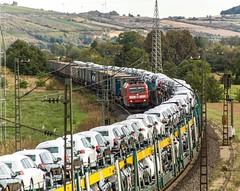 048_2018_09_26_Harrbach_6185_158_DB_mit_LKW_Walter_KV ➡️ Gemünden_ÖBB_1116_087_mit_Autotransportzug ➡️ Würzburg (ruhrpott.sprinter) Tags: ruhrpott sprinter deutschland germany allmangne nrw ruhrgebiet gelsenkirchen lokomotive locomotives eisenbahn railroad rail zug train reisezug passenger güter cargo freight fret bayern maintal atlu bb byb db dispo eloc evb hctor lm öbb rpool sbbcargointernational siag slg sncb stock 0185 0425 0445 0620 1016 1116 1214 1428 1440 242 3202 6152 6182 6185 6186 6187 6189 6193 711 7186 es64u2 es64f4 logo natur outddor harrbach