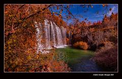 Otoño en el río Cabriel: Cascada del Molino de San Pedro (El Vallecillo, Terol, Spain) (Rafel Ferrandis) Tags: cabriol terol cascada tardor aigua paisatge eos5dmkiv ef1635mmf4l