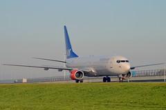 """Vingolf Viking"" SAS Scandinavian Airline System LN-RRU Boeing 737-883 cn/28327-1070 @ Taxiway Q EHAM / AMS 07-11-2017 (Nabil Molinari Photography) Tags: vingolfviking sas scandinavian airline system lnrru boeing 737883 cn283271070 taxiway q eham ams 07112017"