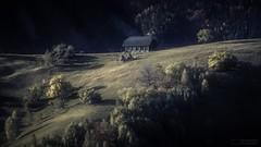 Sat Magura - Romania (demirel.sachir) Tags: village green sunrise landscape canon magura romania