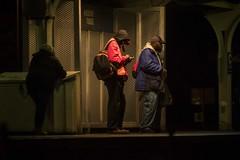 waiting (charlesgyoung) Tags: chicago illinois charlesyoung nikon nikonphotography nikondx streetphotography el elevated chicagotransitauthority cta night