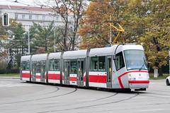 BRN_1917_201811 (Tram Photos) Tags: skoda škoda 13t brno brünn strasenbahn tram tramway tramvaj tramwaj mhd šalina dopravnípodnikměstabrna dpmb