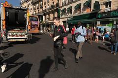 Boulevard de Clichy - Paris (France) (Meteorry) Tags: europe france idf îledefrance paris parispeople candid street rue streetscene boulevarddeclichy placedeclichy male homme guy mec black noir bufallo lacoste traffic circulation sneakers trainers baskets skets young twink lascard lad dude cute hunk mcdonalds léon pharmacie june 2018 meteorry
