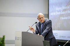 Secretary-General Angel Gurría speaking at COP24 (Organisation for Economic Co-operation and Develop) Tags: cop 24 katowic poland oecd angel gurria secretary general