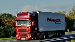 SK - Kopex Scania R13 TL (BonsaiTruck) Tags: kopex scania lkw lastwagen lastzug truck lorry camion caminhoes
