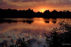 Soir d'été (jpto_55) Tags: soleilcouchant reflet soir lac étang lacsoula paysage xe1 fuji fujifilm hautegaronne france fujixf35mmf2rwr