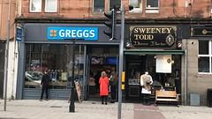 (Sam Tait) Tags: horror creepy old lights traffic shopfront lol scotland perth murder shave hair razor throat cut barber deamon demon todd tod sweeny sweeney shoppe shop pastry pie pasty greggs