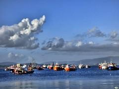 Anclados (juantiagues) Tags: vilanova arousa xufre puerto barcos pesqueros juantiagues juanmejuto