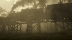 Overgrown | RDR2 (Razed-) Tags: overgrown fog train swamp red dead redemption 2 rdr rockstar games playstation 4 ps4 pro
