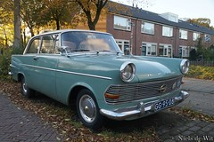 1962 Opel Rekord 1700 (NielsdeWit) Tags: nielsdewit car oldtimer vehicle classic gg9508 opel rekord 17r2 1962 wageningen p2