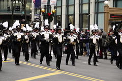 Chicago Thanksgiving Parade (samaelsworkshop) Tags: ifttt 500px houhai arm positive emotion fifth avenue shoulder bag shopping boulevard sidewalk city street scarf crowd marching audience large group people austerity protestor politics spectator parade military band election political rally