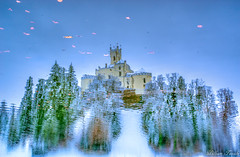 IMGP2699-2 (William Teocchi) Tags: dvorac snijeg jezera trakoscan autumn snow winter reflexionwater water reflexion reflet ondes automne château castle