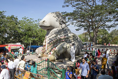 Southern India Tour (Kev Gregory (General)) Tags: the famous sri nandi temple kev gregory canon 6d mark ii dedicated lord bull vahana vehicle shiva sits chamundi hills near mysore