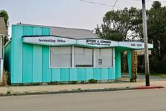 Jeffery A. Corning, Crescent City, CA (Robby Virus) Tags: crescentcity california ca northcoast jeffery corning accountant office midcentury modern building architecture tiki accounting