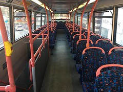 Interior shot of National Express West Midlands Dennis Trident 2/Alexander ALX400 4155 (Y751 TOH) (Liam1419) Tags: y751toh 4155 alexanderalx400 dennistrident2 nationalexpresswestmidlands
