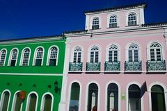 Pink and Green (Nick_Leonard) Tags: salvador bahia salvadordebahia brazil 2018 travel southamerica colonial pink green largodopelourinho brasil