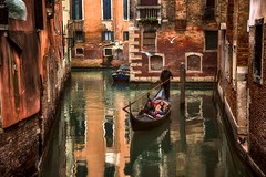 Beneath The Lion's Wings (Anna Kwa) Tags: canal gondolier gondola reflections venice italy annakwa nikon d750 2401200mmf40 my choice love always seeing heart soul throughmylens life journey fate destiny travel world beneaththelionswings