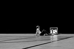 l i m i n a l i t y (Gaia Rampon) Tags: streetphotography streetphotographer alienation media contemporarylife contemporary nonplaces nonlieux marcaugé supermodernity surmodernite liminalspaces liminality white black blackandwhite neitherherenorthere bnw mono candid nikon nikkor 35mm