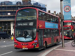 Extra capacity to Norwood courtesy of this rather short route. This over the 2's frogs any day. | Go-Ahead London Volvo B9TL operating the 432 to Anerley Station (alexpeak24) Tags: anerleystation brixton 432 volvob9tl london goahead