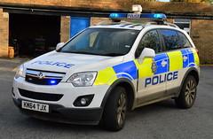 Durham Constabulary - KM64 TJX (Chris' 999 Pics) Tags: durham constabulary vauxhall antara incident response vehicle rural irv off road 4x4 999 112 emergency law enforcement km64tjx