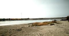 Cruzando el río Tarim. Desierto de Taklamakán. Xiaotang. China (escandio) Tags: transdesertica 2018 china china2018 taklamakan tarim xiaotang xinkian
