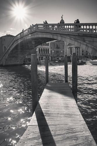 Under the Ponte degli Scalzi - Venice