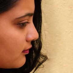 The eye has it! (Bhuvan N) Tags: portrait portraits people beautiful girl woman headshot closeup eye profile nikon tamron pretty face