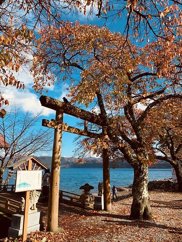 日本秋田單車行-田澤湖