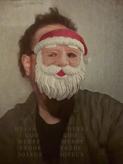 Merry Merry (2018) (pni) Tags: christmas xmas greetings me self selfportrait man samsung s5neo mobilephone android finland suomi pekkanikrus skrubu pni helsinki helsingfors cinc