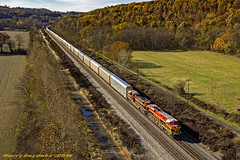 Kansas City Southern GE ES44AC 4866 (Harry Gaydosz) Tags: trains railroads locomotives pa pennsylvania edinburg csxt csxtransportation kcs kansascitysouthern kcs4866 csxtq348