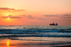 Happy times come and go, but the memories stay forever... #saida #sunset (Ayman Zarif) Tags: saida sunset