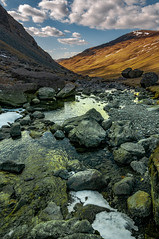 Kirkstone Pass (mynameisblank!) Tags: lakedistrict uk travel landscape water sky clouds mountain ice cold winter rocks boulder valley nature outdoors hike walk wet river stream