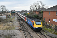43061 + 43075 - March - 06/01/19. (TRphotography04) Tags: east midlands trains on hire lner hst powercars 43061 43075 pass march working 1s18 1146 london kings cross edinburgh