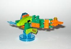 lego 71237 lego dimensions fun pack dc comics aquaman minifigure and aqua watercraft g (tjparkside) Tags: 71237 aquaman watercraft trident aqua seven seas speeder fire lego dimensions fun pack 3 1 minifigure minifigures misb 2016 videogame software dc comics