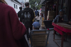 Nameless (Spontaneousnap) Tags: spontaneousnap street shanghai china city like candid documentary people publicareas lifestyle 上海 leicaq takeabreak afternoon asia middlefinger erhu