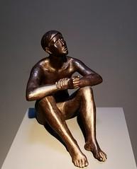 Sterngucker (Berliner1963) Tags: 1936 sculpture skulptur bronze hermannblumenthal sternengucker museum zartemänner georgkolbemuseum charlottenburg berlin germany deutschland