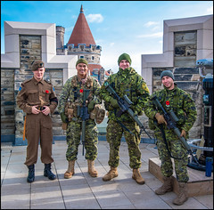 Taking The High Ground (Rodrick Dale) Tags: taking the high ground canadian forces casa loma toronto ontario canada