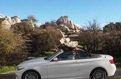 BMW 218 convertible (chericbaker) Tags: torcal eltorcal bmw convertible bmw2series