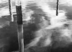 Cape May Reflections 2 (ms2thdr) Tags: 720nm beach capemay docks ir infrared marina monochrome nj newjersey ocean water